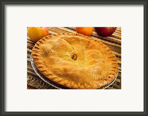 Apple Pie Framed Print By Elena Elisseeva