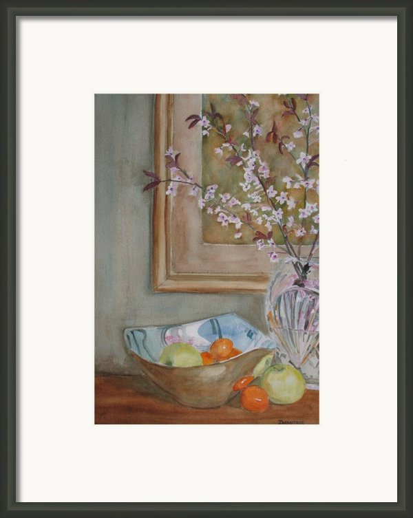 Apples And Oranges Framed Print By Jenny Armitage
