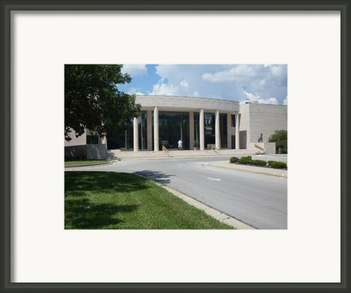 Appleton Museum Of Art Framed Print By Warren Thompson