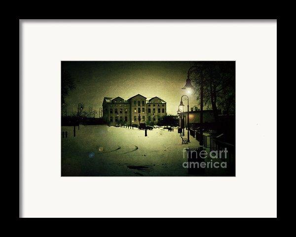 Appleton Waterfront Framed Print By Joel Witmeyer