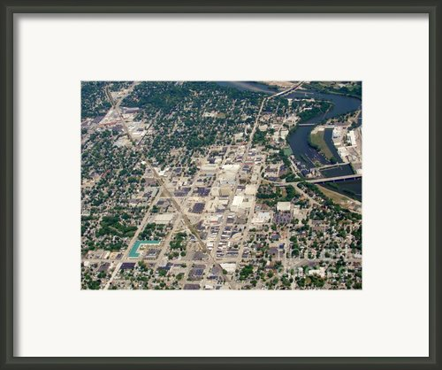 Appleton Wi Downtown College Ave. Framed Print By Bill Lang