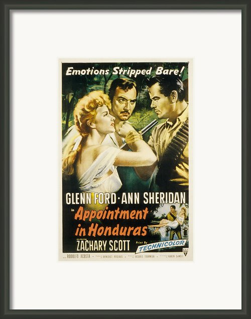 Appointment In Honduras, Ann Sheridan Framed Print By Everett