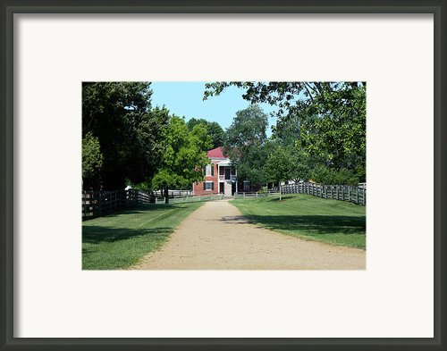 Appomattox County Court House 2 Framed Print By Teresa Mucha
