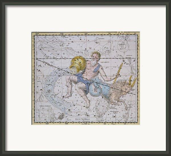 Aquarius And Capricorn Framed Print By A Jamieson