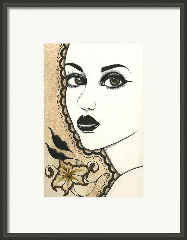 Arabel Framed Print By Nora Blansett
