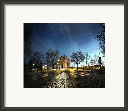 Arc Of Triumph Framed Print By Pascal Laverdiere