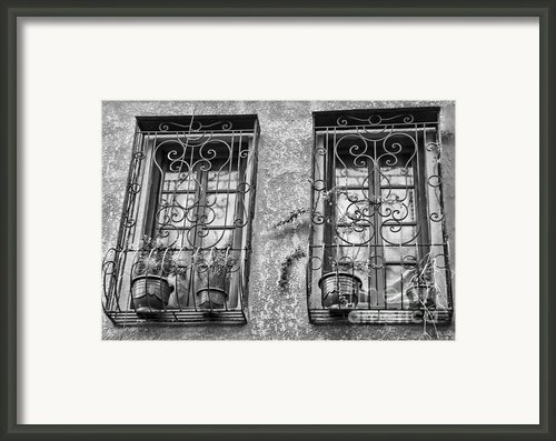 Architecture Bw I Framed Print By Chuck Kuhn