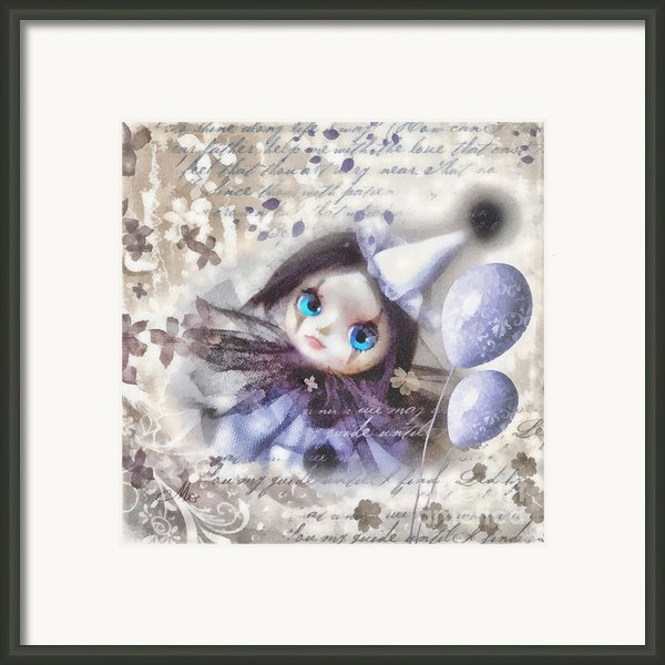 Arlequin Framed Print By Mo T