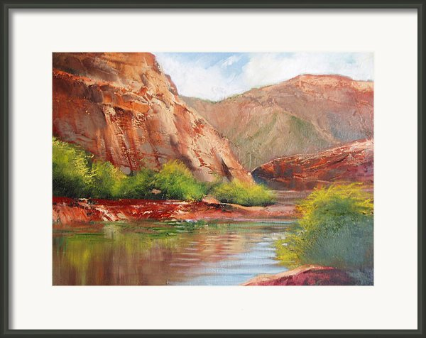 Around The Bend Framed Print By Robert Carver