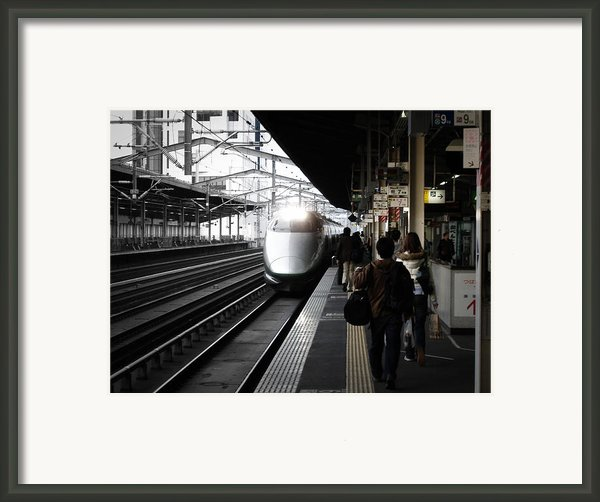 Arriving Train Framed Print By Irina  March