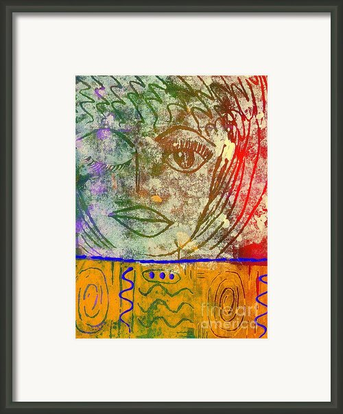 Art   Always Remember Truth Framed Print By Angela L Walker