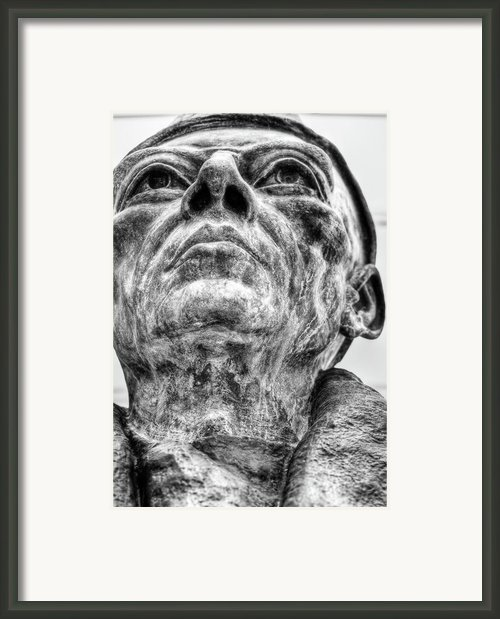 Art Institute Of Chicago - Statue No.1 Framed Print By Niels Nielsen