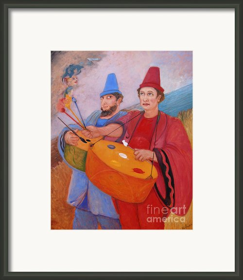 Art Framed Print By Paula Wittner