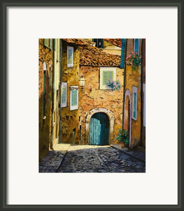 Arta-mallorca Framed Print By Guido Borelli