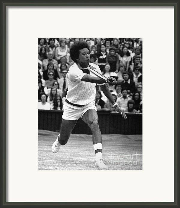 Arthur Ashe (1943-1993) Framed Print By Granger
