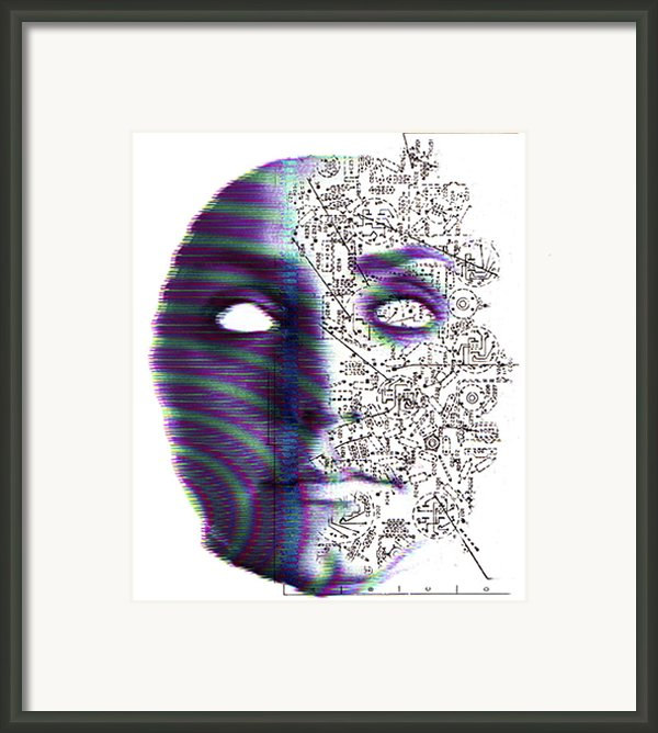 Artificial Intelligence Framed Print By Neal Grundy