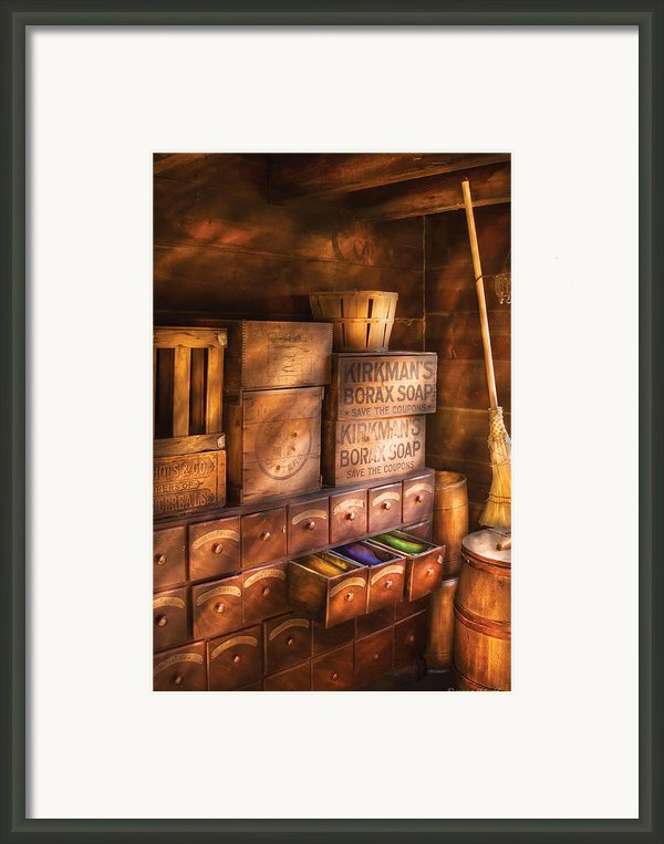 Artist - Assorted  Dyes  Framed Print By Mike Savad