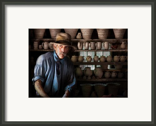 Artist - Potter - The Potter Ii Framed Print By Mike Savad