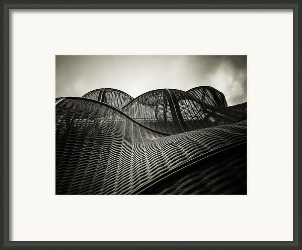 Artistic Curves Framed Print By Lenny Carter