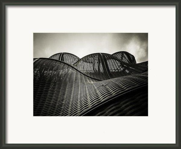 Artistic Curves Framed Print By Lenny Carter