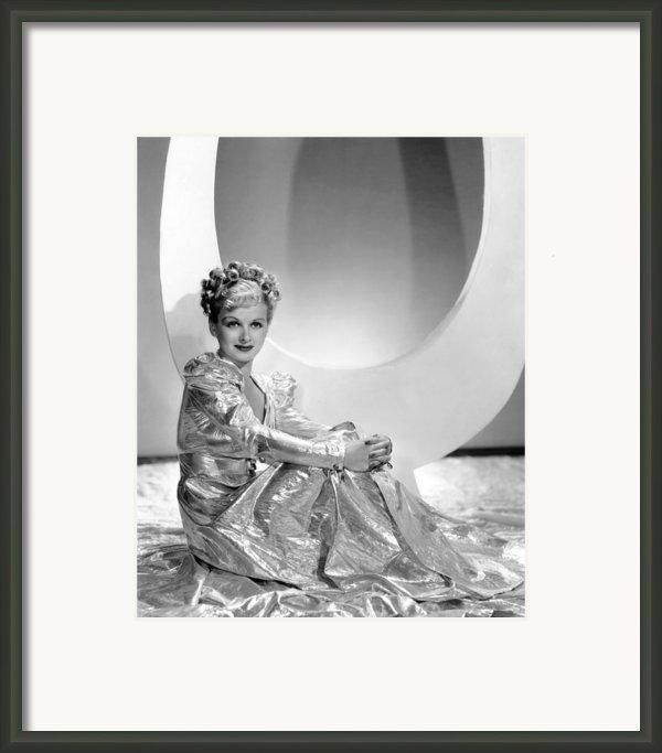 Artists And Models Abroad, Joan Bennett Framed Print By Everett