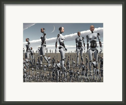 Artists Concept Of An Abundance Framed Print By Mark Stevenson