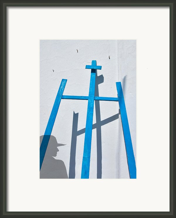 Artists Shadow Framed Print By Salvator Barki