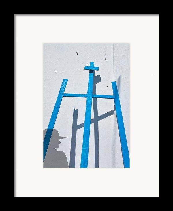 Artists Shadow Framed Print By Salvator Barki