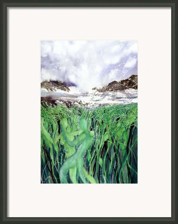 Arturo And Katarina Framed Print By Cory Calantropio