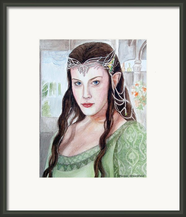 Arwen Framed Print By Mamie Greenfield