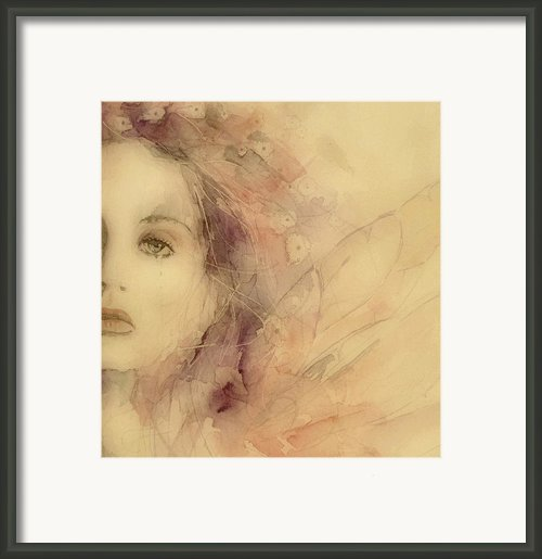 As Tears Go By Framed Print By Paul Lovering