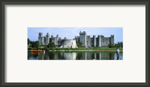 Ashford Castle, Lough Corrib, Co Mayo Framed Print By The Irish Image Collection