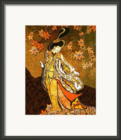 Asian Woman Framed Print By Alexandra  Sanders
