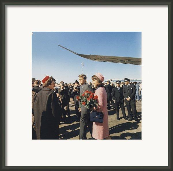 Assassination Of President Kennedy Framed Print By Everett
