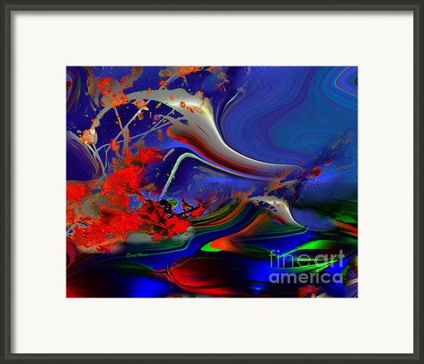 Astral Duck Framed Print By Doris Wood