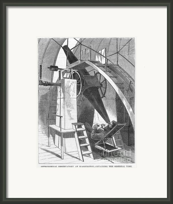 Astronomer, 1869 Framed Print By Granger