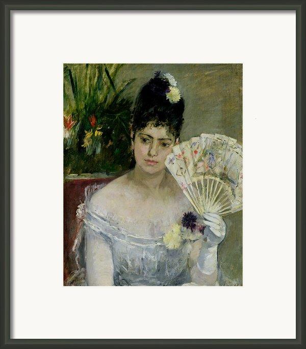 At The Ball Framed Print By Berthe Morisot