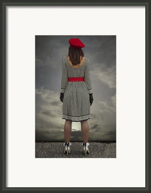 At The Edge Framed Print By Joana Kruse