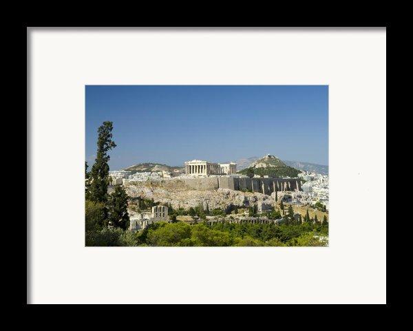 Athens Framed Print By Julia Bridget Hayes