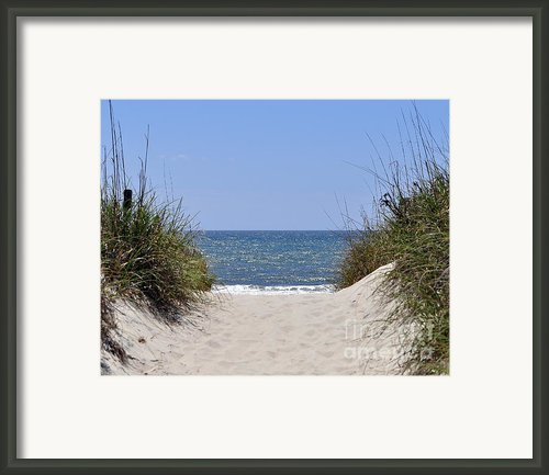 Atlantic Access Framed Print By Al Powell Photography Usa