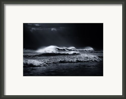 Atlantic Ocean Framed Print By Dapixara Art