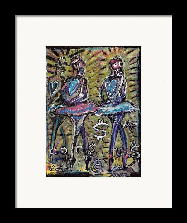 Atomic Ballet Framed Print By Robert Wolverton Jr
