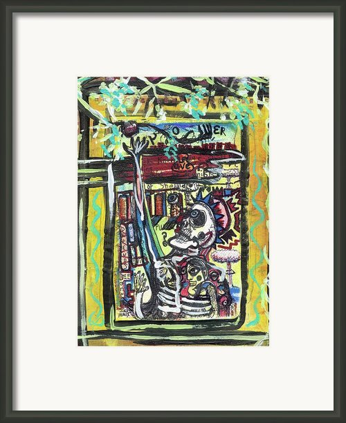 Attic Window Framed Print By Robert Wolverton Jr