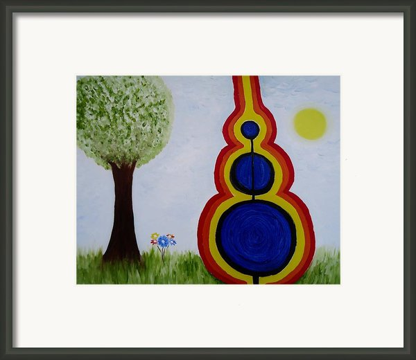 Attune - To Bring Into Harmony. Framed Print By Cory Green