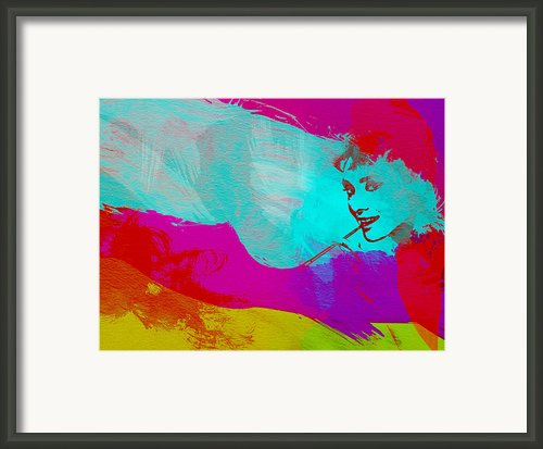Audrey Hepburn Framed Print By Irina  March