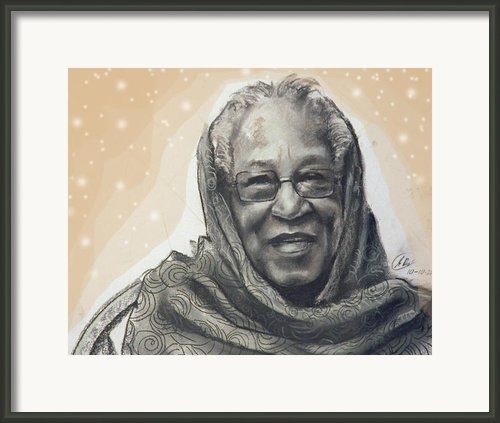 Aunt Irene Framed Print By Gary Williams