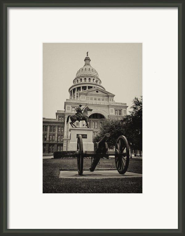 Austin Capitol Framed Print By Lisa  Spencer