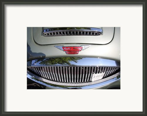 Austin Healey Framed Print By Wingsdomain Art And Photography