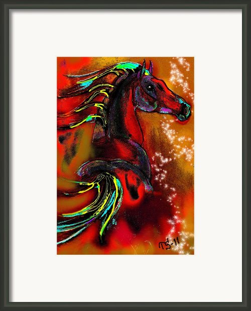 Autumn Colors Framed Print By Tarja Stegars