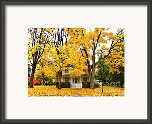 Autumn Day Framed Print By Julie Palencia